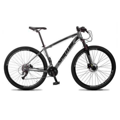 Imagem de Bicicleta MTB Aro 29 Quadro 15 Alumínio 27 Marchas Freio Hidráulico Vega Cinza - Spaceline