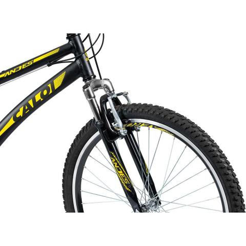 Imagem de Bicicleta MTB Caloi Andes Aro 26 - Susp Dianteira - 21 Velocidades - Preto