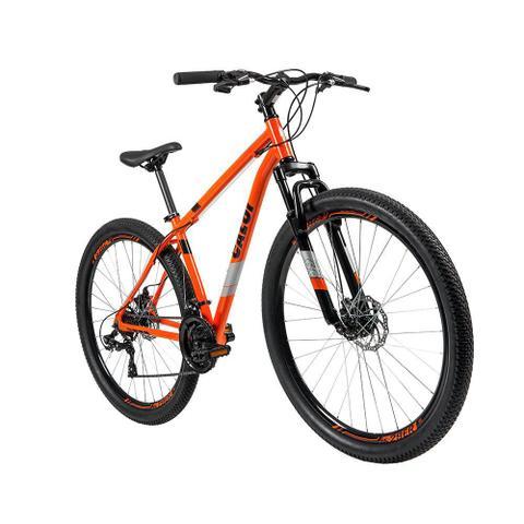 Imagem de Bicicleta MTB Caloi Two Niner Alloy Aro 29 - Quadro Alumínio - 21 Velocidades - Laranja