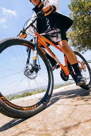 Imagem de Bicicleta MTB Caloi Two Niner Alloy Aro 29 - Susp Diant - Quadro Alumínio - 21 Vel Laranja