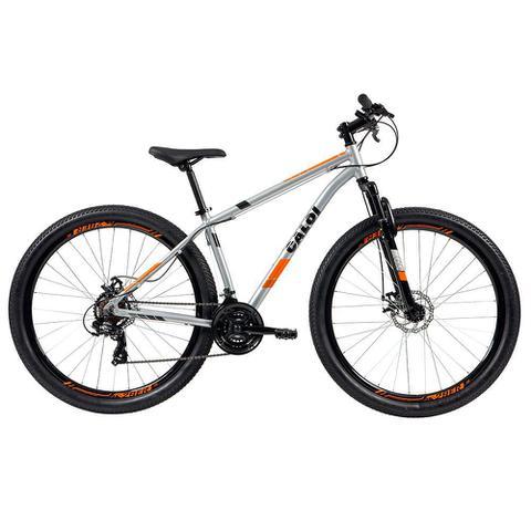 Imagem de Bicicleta MTB Caloi Two Niner Alloy Aro 29 - Susp Diant - Quadro Alumínio - 21 Vel Prata