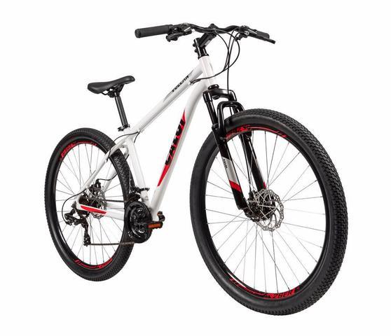 Imagem de Bicicleta MTB Caloi Vulcan Aro 29 - 17'' - 21 Velocidades - Branco