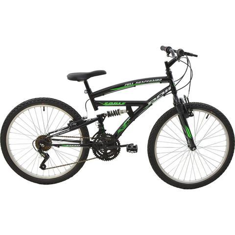 Imagem de Bicicleta Polimet Eagle Full Suspension Aro 24 V-brake 18v