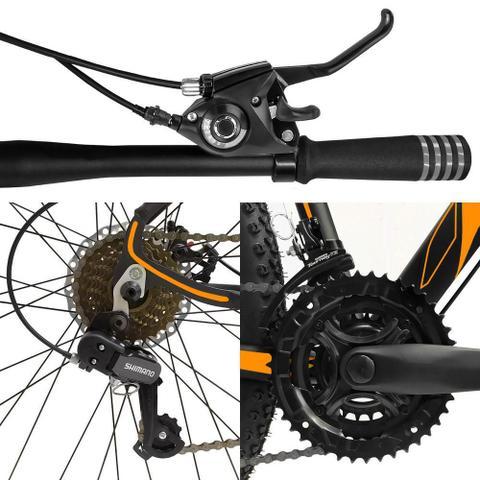 Imagem de Bicicleta Quadro 15 Aro 29 Alumínio 21 Marchas Freio a Disco Z3 - Dropp