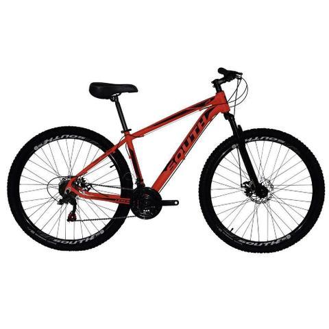 Imagem de Bicicleta SOUTH BIKE Alumínio 21 Velocidades Aro 29 Vermelha Q19530018