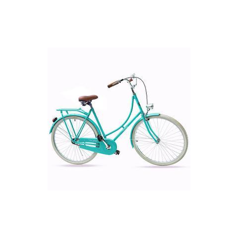 Bicicleta Echo Vintage Vênus Aro 26 Rígida 1 Marcha - Verde
