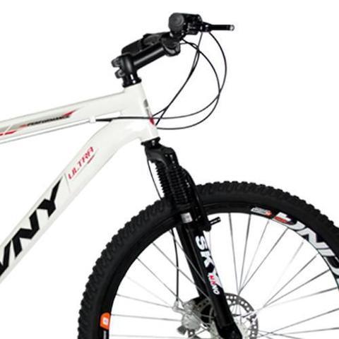 Imagem de Bicicleta Wny Aro 26 Freio À Disco 21 Marchas Branca