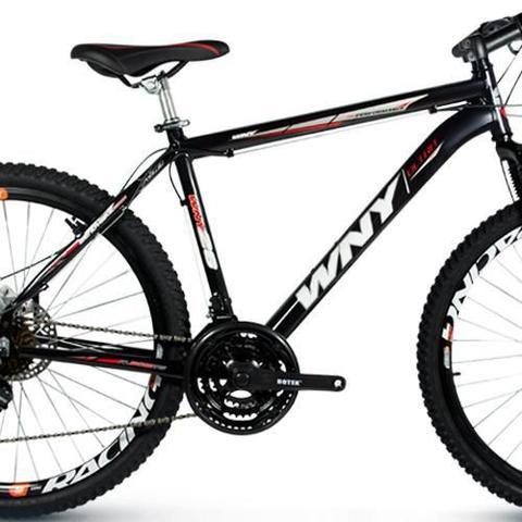 Imagem de Bicicleta Wny Aro 26 Freio À Disco 21 Marchas Preta