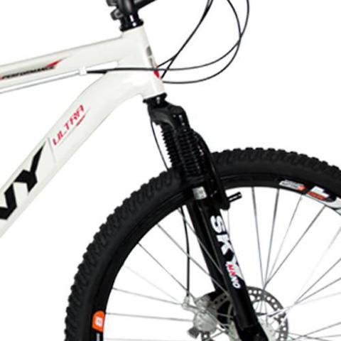 Imagem de Bicicleta Wny Aro 26 Freio À Disco 24 Marchas Branca