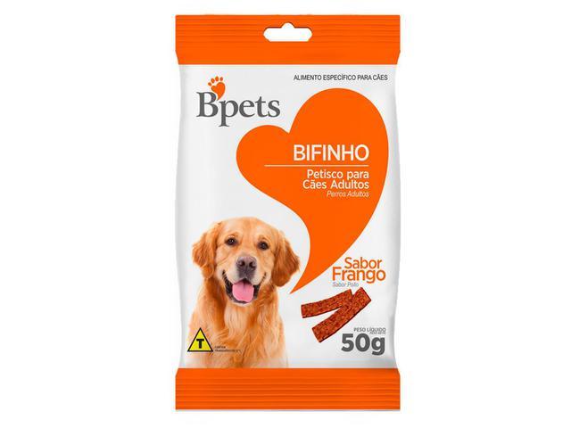 Imagem de Bifinho para Cachorro Adulto Bpets Frango 50g