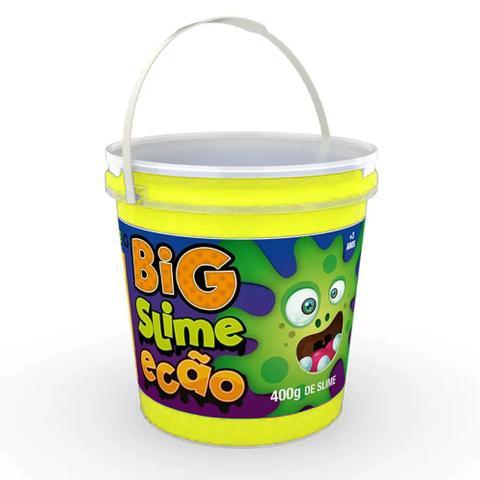 Imagem de Big Pote de Slime Ecão - 400 Gr - Amarelo - DTC