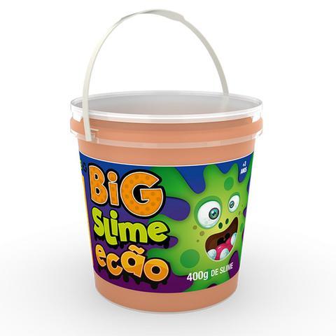 Imagem de Big Pote de Slime Ecão - 400 Gr - Laranja - DTC