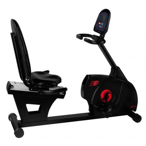 Imagem de Bike ergométrica horizontal magnética profissional 367sx embreex  cd