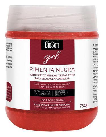 Imagem de Bio Soft Gel Pimenta Negra Redutor de Medidas