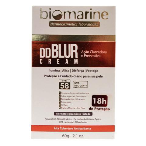 Imagem de Biomarine Tratamento Facial DD Blur FPS58 Efeito Pele Lisa Cor Bronze 60g