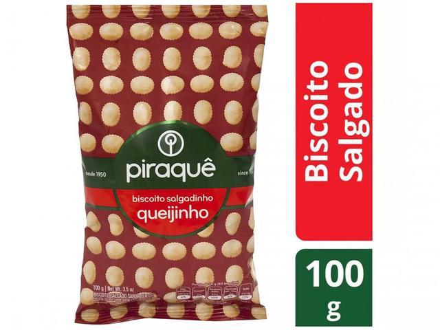 Imagem de Biscoito Salgado Queijinho Piraquê 100g