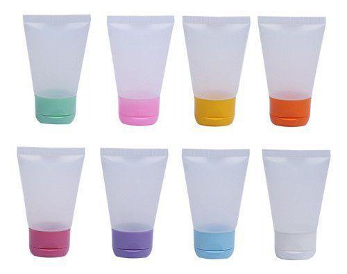 Imagem de Bisnaga para Lembrancinha Hidratante e Álcool gel 40 ml 50 unid