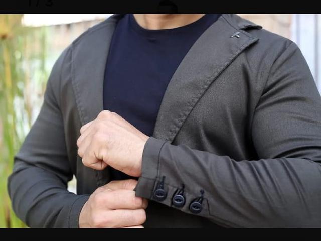 Imagem de Blazer Masculino Esporte Fino Slim Fit com Elastano