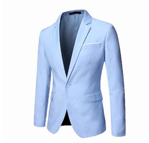 Imagem de Blazer Masculino Slim 2 Botões Corte Italiano Super Oferta 7 Cores - Shopping do Terno