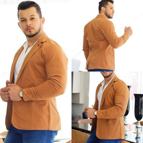 Imagem de Blazer Masculino Slim Fit com Elastano