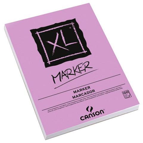 Imagem de Bloco Canson XL Marker 70g/m² A4 21 x 29,7 cm com 100 Folhas  200297236