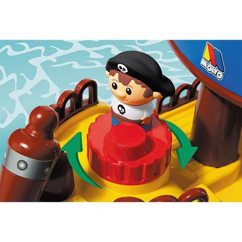 Imagem de Blocos de Montar - 30 Peças - Navio Pirata - Baby Land