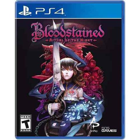 Jogo Bloodstained Ritual Of The Night - Playstation 4 - Inti Creates