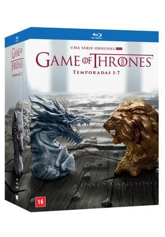 Imagem de Blu-Ray Game Of Thrones - Temporadas Completas 1-7 - 35 Discos