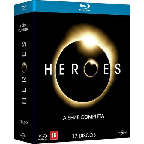 Imagem de Blu-Ray - Heroes - A Série Completa (17 Discos)