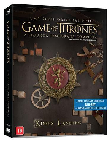 Imagem de Blu-Ray Steelbox - Game Of Thrones - 2ª Temporada - Edição Limitada