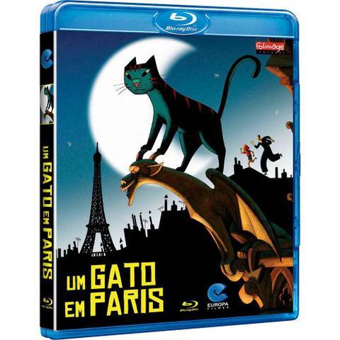 Imagem de Blu-Ray Um Gato em París
