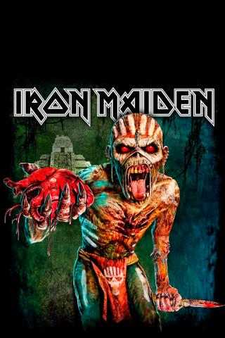 Imagem de Blusa Moletom Canguru Full Print Preto - Iron Maiden The Book of Souls Live Chapter