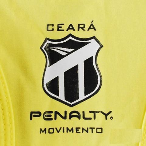e9a5490596e4c1 Blusa Top Com Bojo Feminino Ceará Penalty Amarelo - Camisa de Time ...