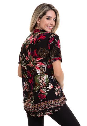 Imagem de Blusa Viscose Estampada Floral