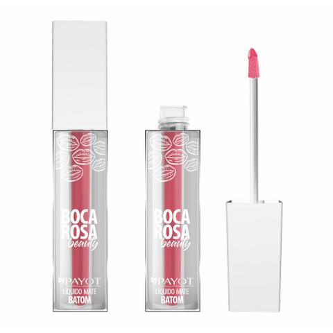 Imagem de Boca rosa beauty by payot batom líquido mate 4g