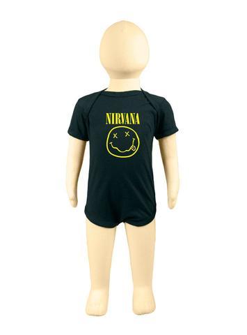 Imagem de Body Banda de Rock 100 Algodão Nirvana