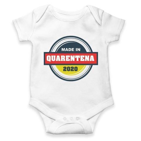 Imagem de Body Bebê Divertido quarentena ref 997