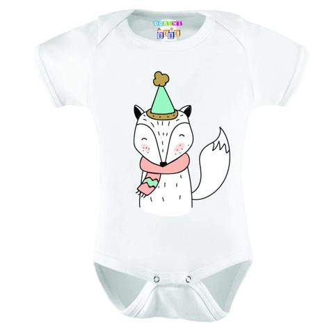 Imagem de Body Bebê Personalizado Raposa