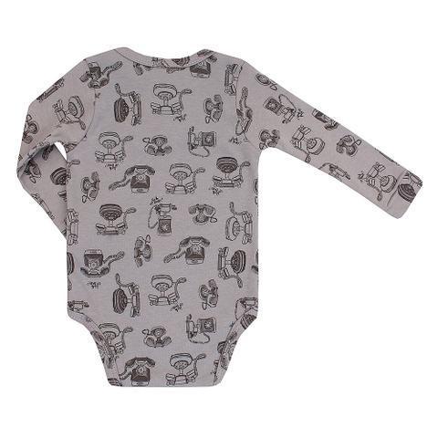 Imagem de Body Bebê Up Baby Suedine Telefone