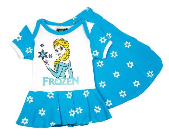 Imagem de Body Fantasia 100 Algodão Frozen