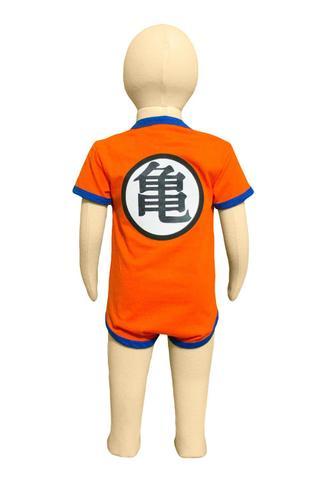Imagem de Body Fantasia 100 Algodão Goku Dragon Ball