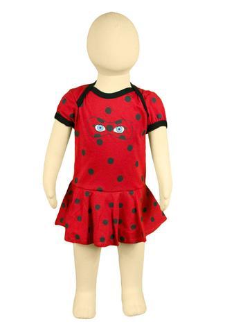 Imagem de Body Fantasia 100 Algodão Ladybug