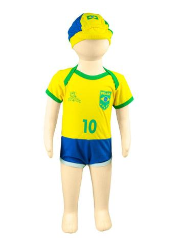 Imagem de Body Time 100 Algodão Seleção Brasileira