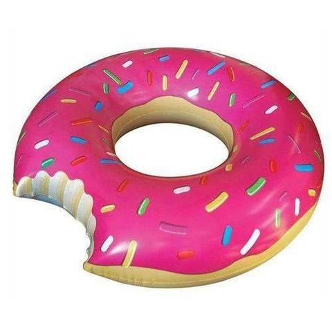 Imagem de Boia Infantil Donut Rosquinha Rosa