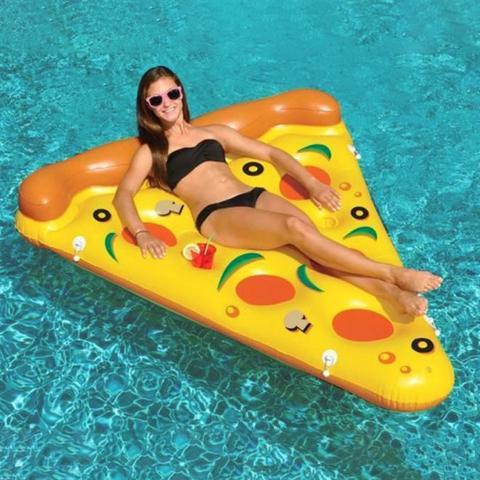 Imagem de Boia Inflável Gigante Bel Lazer Especial Pizza Amarela