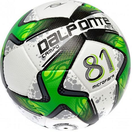 Imagem de Bola 81 Dalponte Nitro Microfibra Futebol Campo Costurada a Mão