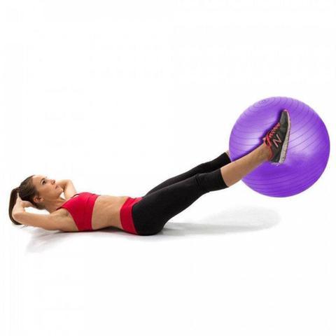 Imagem de Bola De Exercícios Pilates Hidrolight Com Bomba 45cm