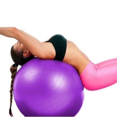 Imagem de Bola De Exercícios Pilates Hidrolight Com Bomba 65cm