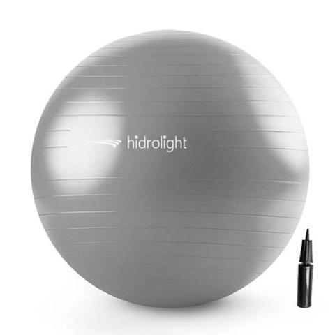 Imagem de Bola De Exercícios Pilates Hidrolight Com Bomba 75cm