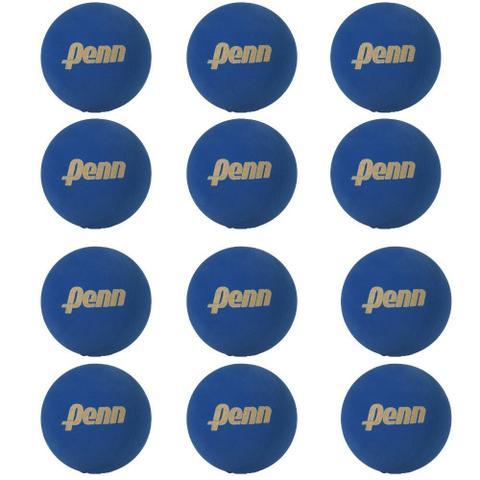 Imagem de Bola De Frescobol Penn Azul Kit 12 Unidades